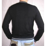 Джемпер трикотажный D&A Jeans-Dman81 черный с блестками