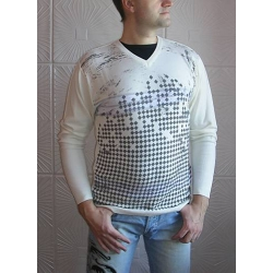 Пуловер Pulltonic с ромбами