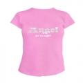 Футболка женская ANGEL розовая